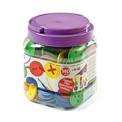 Lacing Buttons 140 Piece Jar