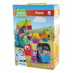 Super Blocks Farm Set, MLE32339