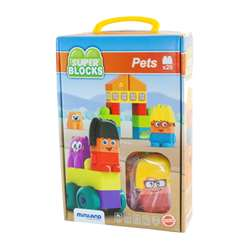 Super Blocks Pets Set, MLE32348