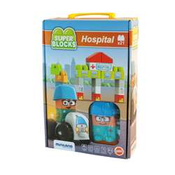 Super Blocks Hospital Set, MLE32351