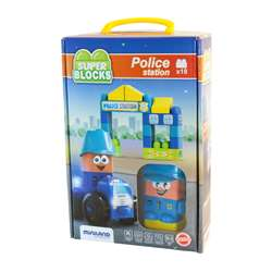 Super Blocks Police Station Set, MLE32353