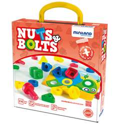 Nuts Bolts School Activity 24 Pc St, MLE45303