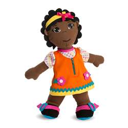 Fastening Dolls African Girl Multicultural, MLE96318