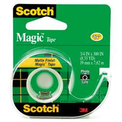 "Tape Magic Trans 3/4"" X 300"" By 3M"