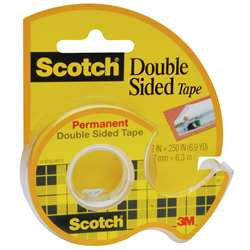 "Tape Double Stick 1/2"" X 250"" By 3M"