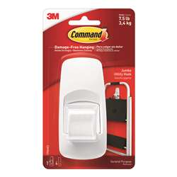 Command Adhesive Reusable Jumbo Hook By 3M