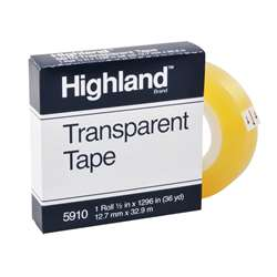 Tape Highland Transparent By 3M