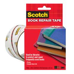"Book Tape 2"" X 15 Yds By 3M"