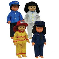Career Doll Clothes By Get Ready Kids