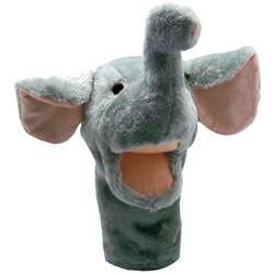 Plushpups Hand Puppet Elephant By Get Ready Kids