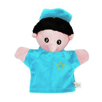 Police Officer (White) Puppet By Get Ready Kids