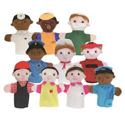 Community Helper Puppets Set Of 10, MTB469
