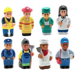 Multicultural Community Helper Fig Set Of 8, MTB620