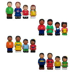Multicultural Family 4 St Complete Figures, MTB624