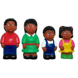African-American Family Figure Set, MTB626