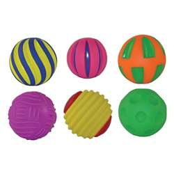 Tactile Squeak Balls By Get Ready Kids