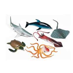 Ocean Animal Playset By Get Ready Kids