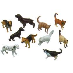 5In Pets Animal Playset Set Of 10 By Get Ready Kids