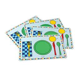 Meal Mats Set Of 4 By Marvel Education