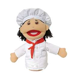 Chef Multi Ethnic Career Puppet By Marvel Education
