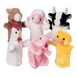 Farm Favorites Puppets Set Of 6 By Marvel Education