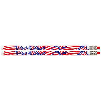 America The Beautiful 12Pk Motivational Fun Pencils By Musgrave Pencil