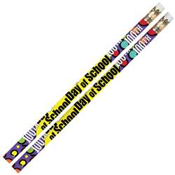 100Th Day Of School 12Pk Motivational Fun Pencils By Musgrave Pencil