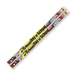 100Th Day Of School Motivational Fun Pencils (144 , MUS2489G
