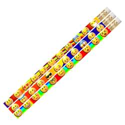 12 Pack Emojis Etc Pencils, MUS2499D