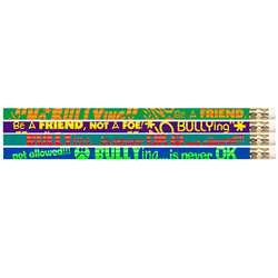 No Bullying 12Pk Motivational Fun Pencils By Musgrave Pencil