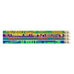 No Bullying Motivational Fun Pencils (144 Count), MUS2508G