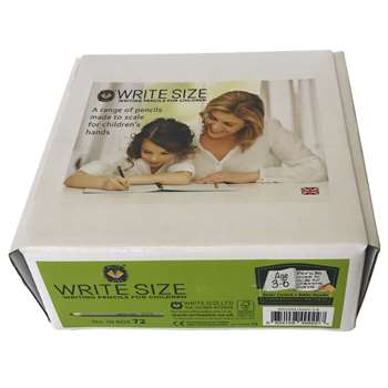 "Write Size 4"" Pencils 72 Count Box, MUSWS1004"