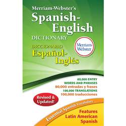 Merriam Websters Spanish English Dictionary Hardco, MW-2659