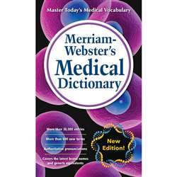 Merriam-Websters Medical Dictionary Mass-Market Pa, MW-2949