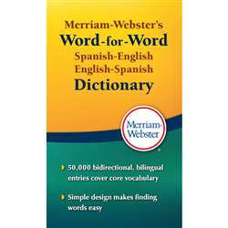 Merriam Websters Spanish English English Spanish D, MW-2970