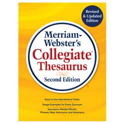 Merriam Webster College Thesaurus 2Nd Edition, MW-3700