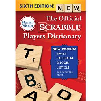 Official Scrabble Players Dictionry 6Th Ed Hardcov, MW-4226