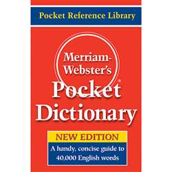 Merriam Websters Pocket Dictionary, MW-5308