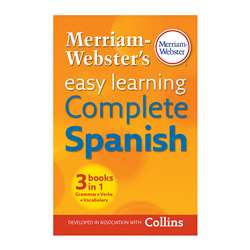 Easy Learning Complete Spanish Merriam Webster, MW-5896