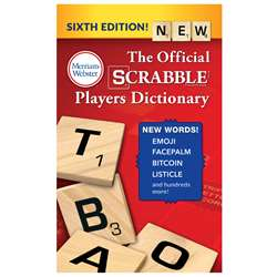 Scrabble Players Dictionary 6Th Ed, MW-5964
