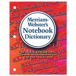 Merriam Webster Notebook Dictionary, MW-6503