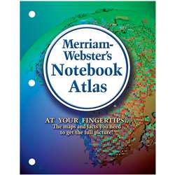Merriam Websters Notebook Atlas, MW-6527