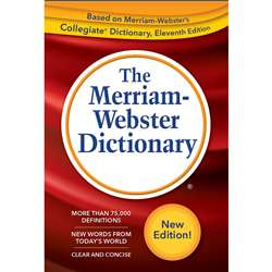 Webster Dictionary Trade Paperback 2019 Copyright, MW-6688