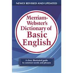 Merriam Websters Dictionary Of Basic English, MW-7319