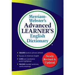 Advanced Learner English Dictionary Merriam Webste, MW-7364