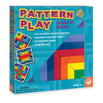 Pattern Play Blocks Age 2 & Up By Mindware