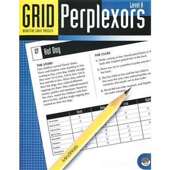 Grid Perplexors Level A By Mindware