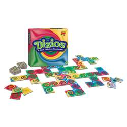 Dizios A New Twist On Dominoes Game By Mindware
