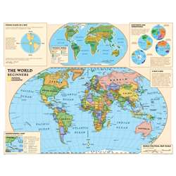 Beginners World Map By National Geographic Maps