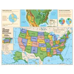 Beginners United States Map By National Geographic Maps